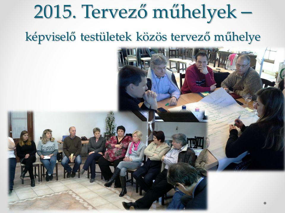 2015. Tervező műhelyek – képviselő testületek közös tervező műhelye