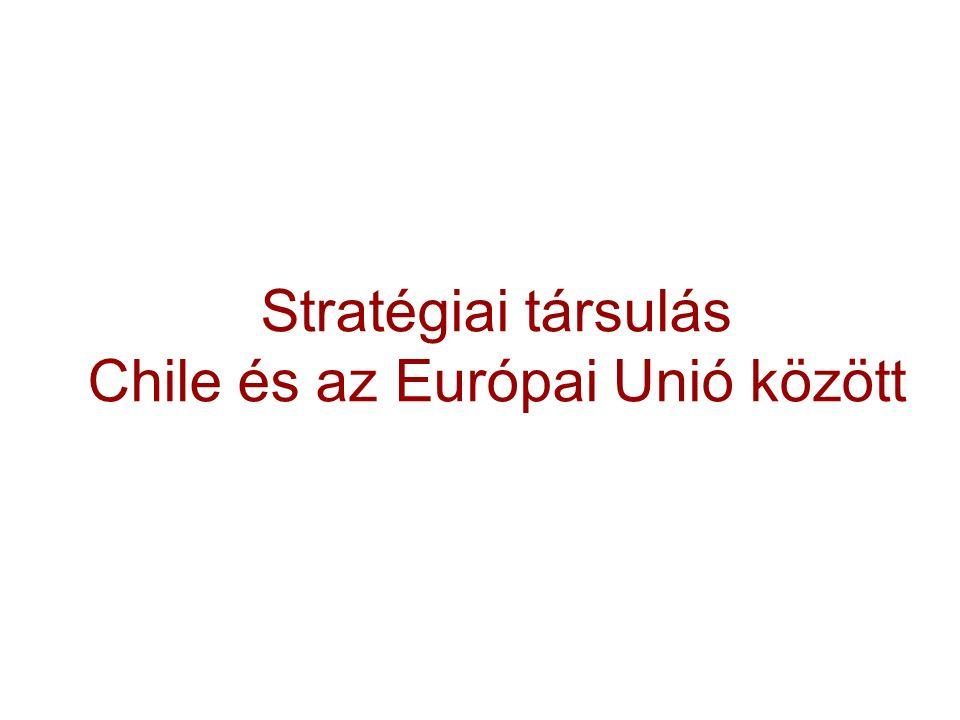 Chile: Az Export Diverzifikálása Forrás: ProChile