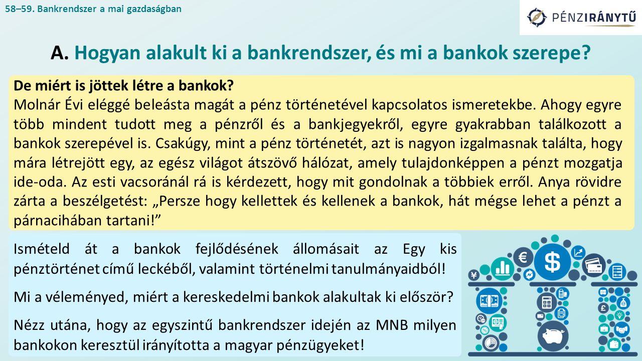 De miért is jöttek létre a bankok? Molnár Évi eléggé beleásta magát a pénz történetével kapcsolatos ismeretekbe. Ahogy egyre több mindent tudott meg a