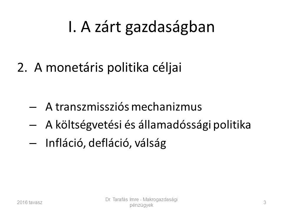 I.A zárt gazdaságban 2.