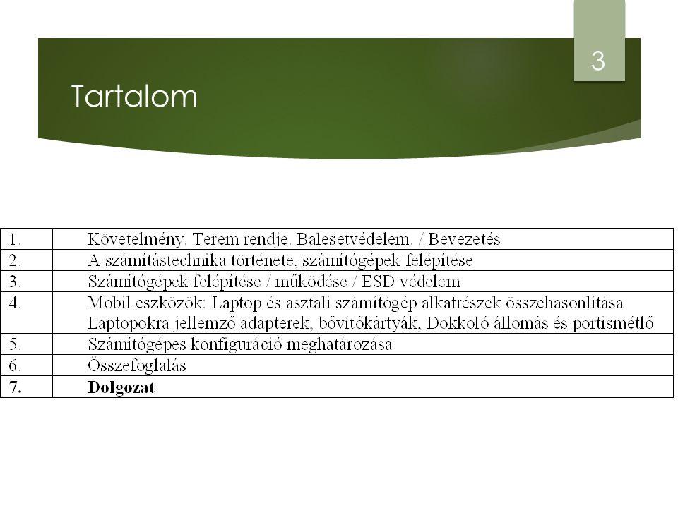 Tartalom 3