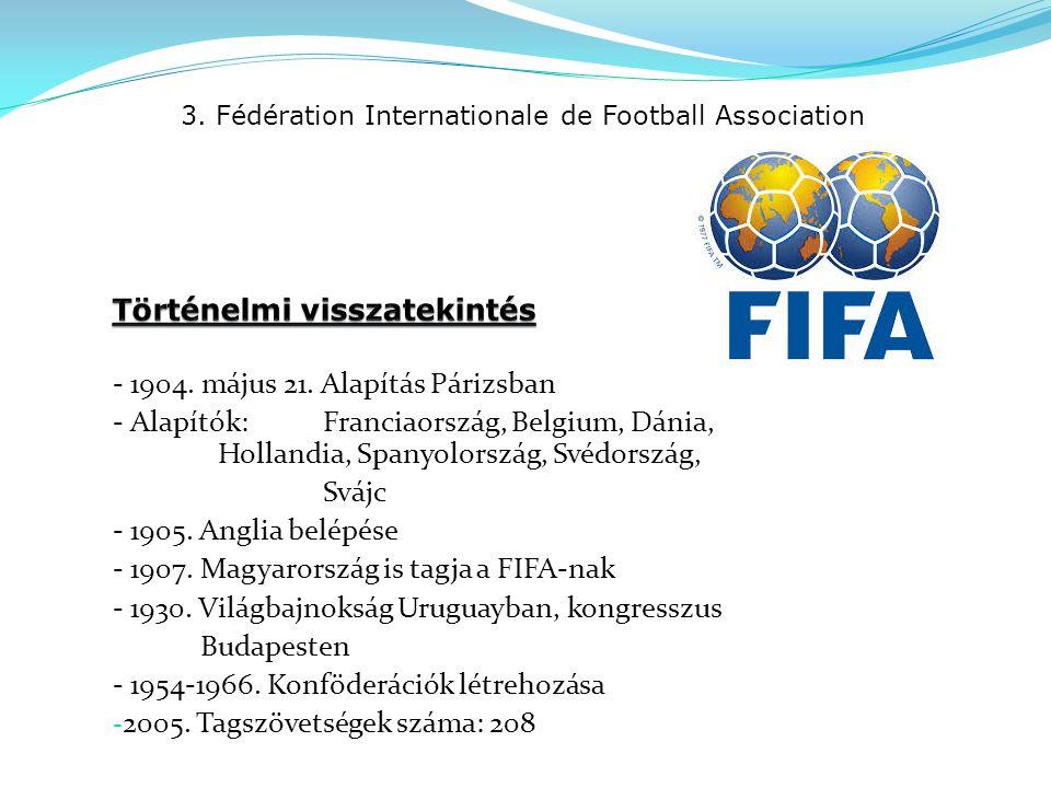 4.Union des Associations Européennes de Football - 1954.