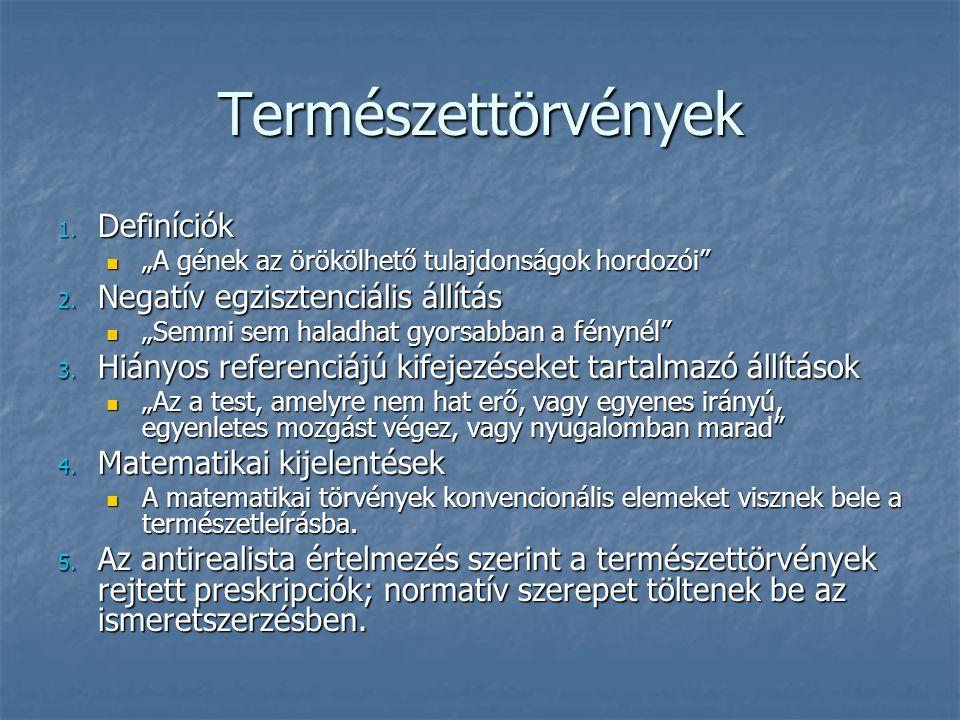Természettörvények 1.