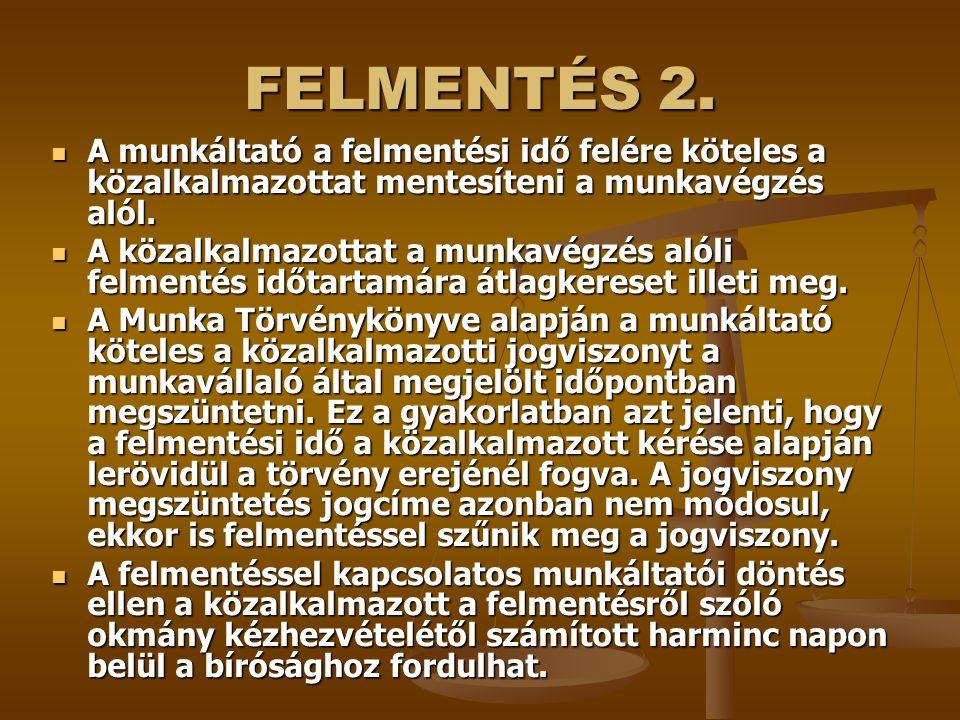 FELMENTÉS 2.