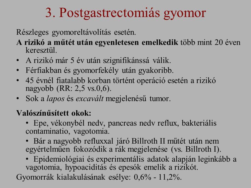 3.Postgastrectomiás gyomor Részleges gyomoreltávolítás esetén.