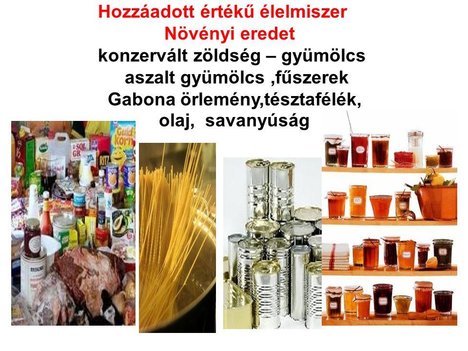 Helyi termék Hozzáadott értékű élelmiszer Állati eredetű húskészítmények, tejtermékek méz és méztermékek
