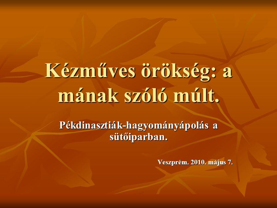 Ismert többgenerációs pékcsaládok.A szécsényi Domszky család története.