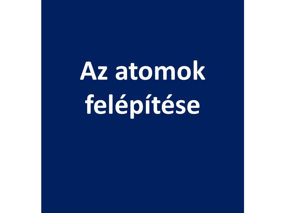 Izotópok Az IZOTÓPOK azonos rendszámú (protonszámú), de eltérő tömegszámú atomok.