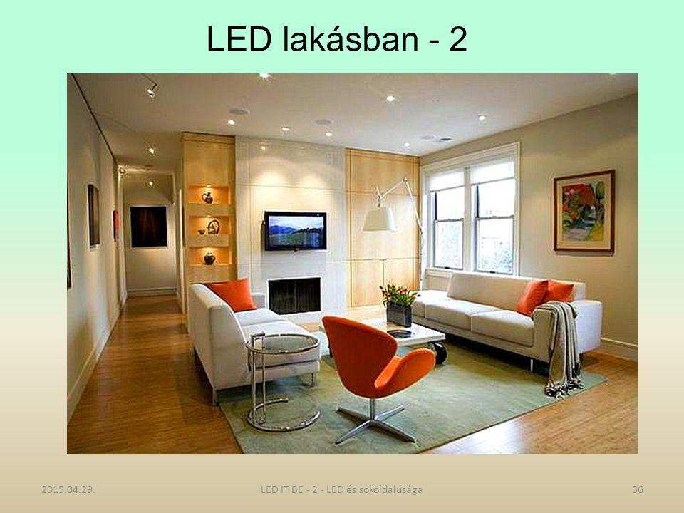 LED lakásban - 2 2015.04.29.LED IT BE - 2 - LED és sokoldalúsága36