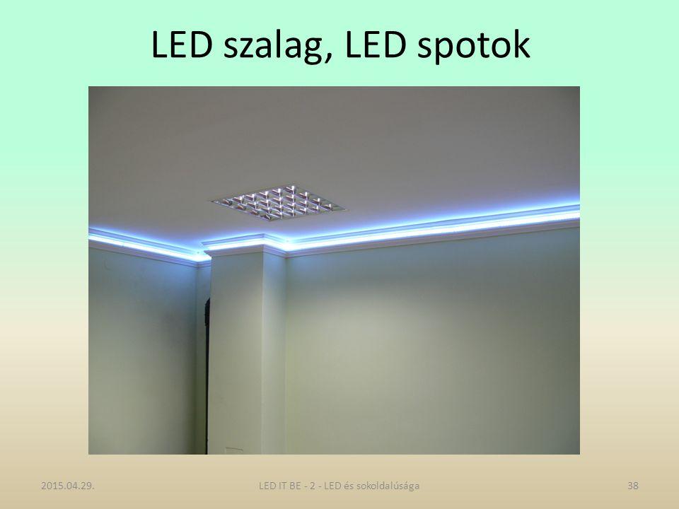 LED szalag, LED spotok 2015.04.29.38LED IT BE - 2 - LED és sokoldalúsága