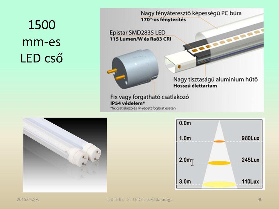 1500 mm-es LED cső 2015.04.29.40LED IT BE - 2 - LED és sokoldalúsága