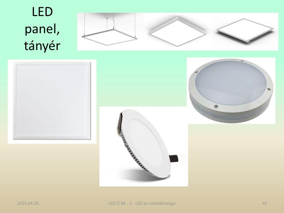 LED panel, tányér 2015.04.29.LED IT BE - 2 - LED és sokoldalúsága41