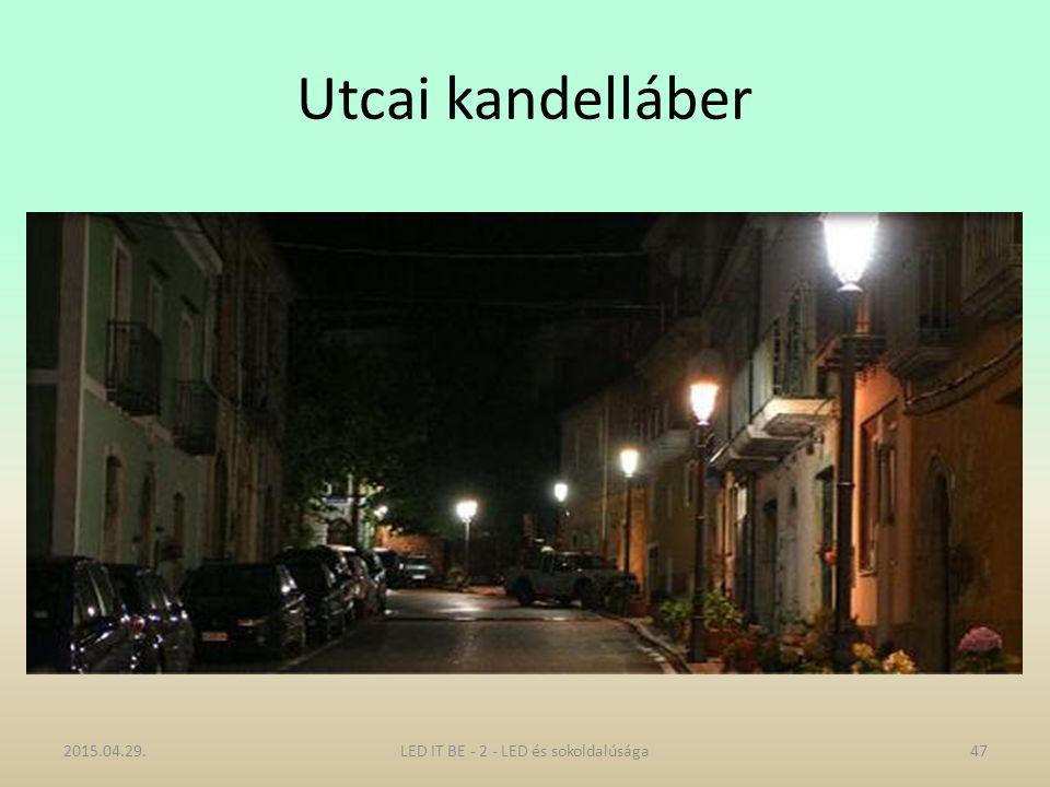 Utcai kandelláber 2015.04.29.47LED IT BE - 2 - LED és sokoldalúsága