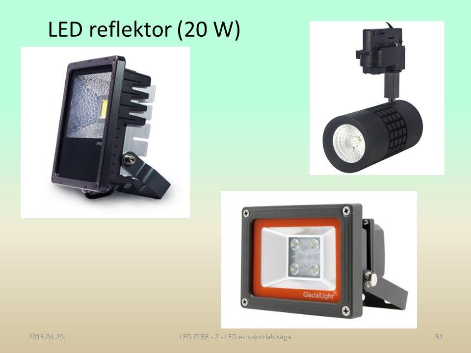 LED reflektor (20 W) 2015.04.29.LED IT BE - 2 - LED és sokoldalúsága51