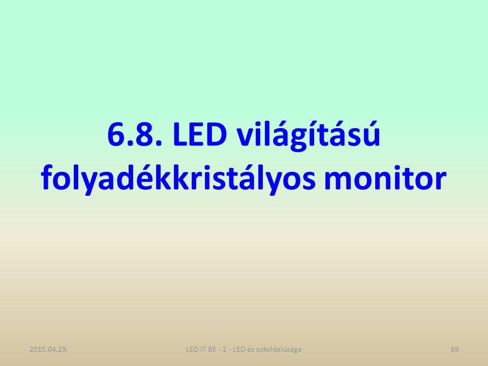6.8. LED világítású folyadékkristályos monitor 2015.04.29.LED IT BE - 2 - LED és sokoldalúsága69