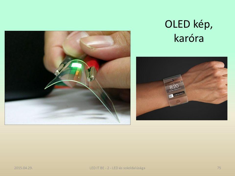OLED kép, karóra 2015.04.29.LED IT BE - 2 - LED és sokoldalúsága75