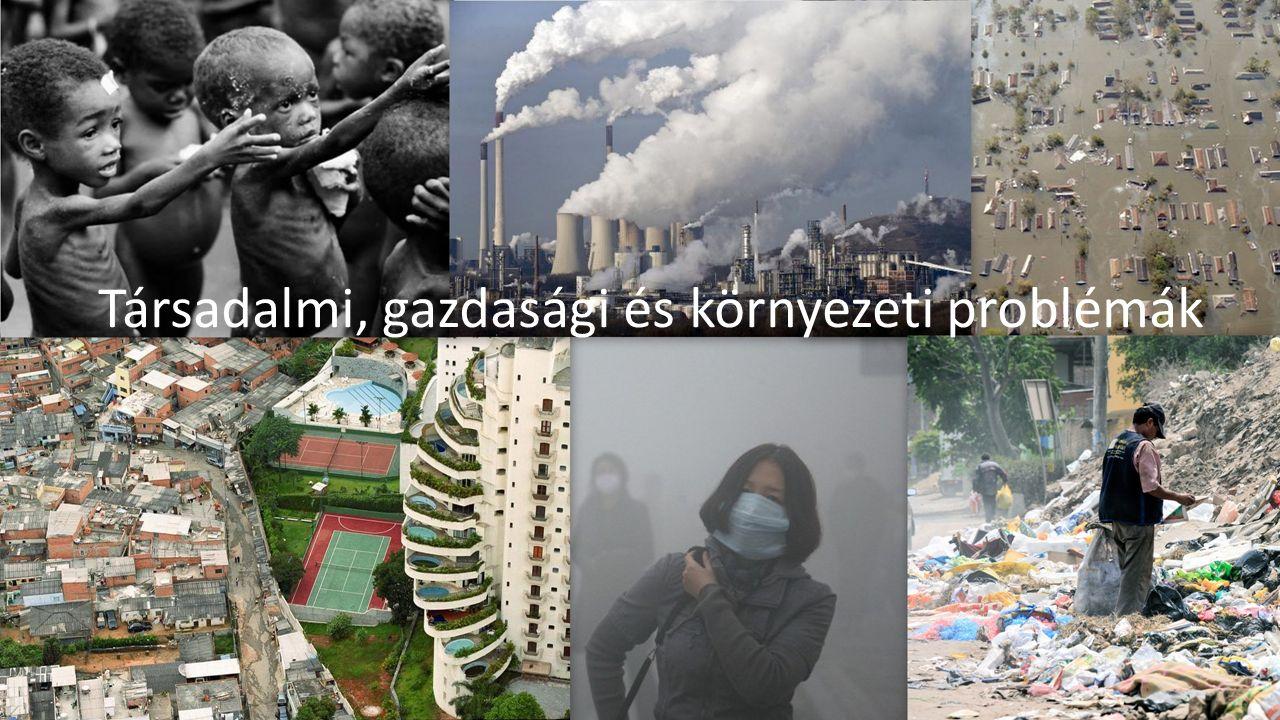 Társadalmi, gazdasági és környezeti problémák