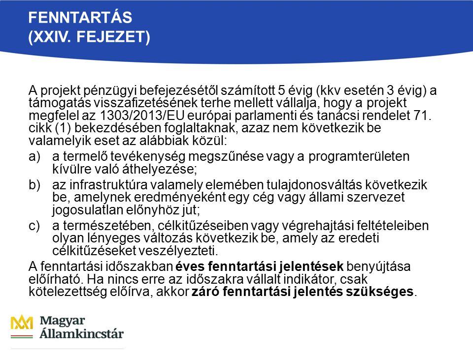 FENNTARTÁS (XXIV.