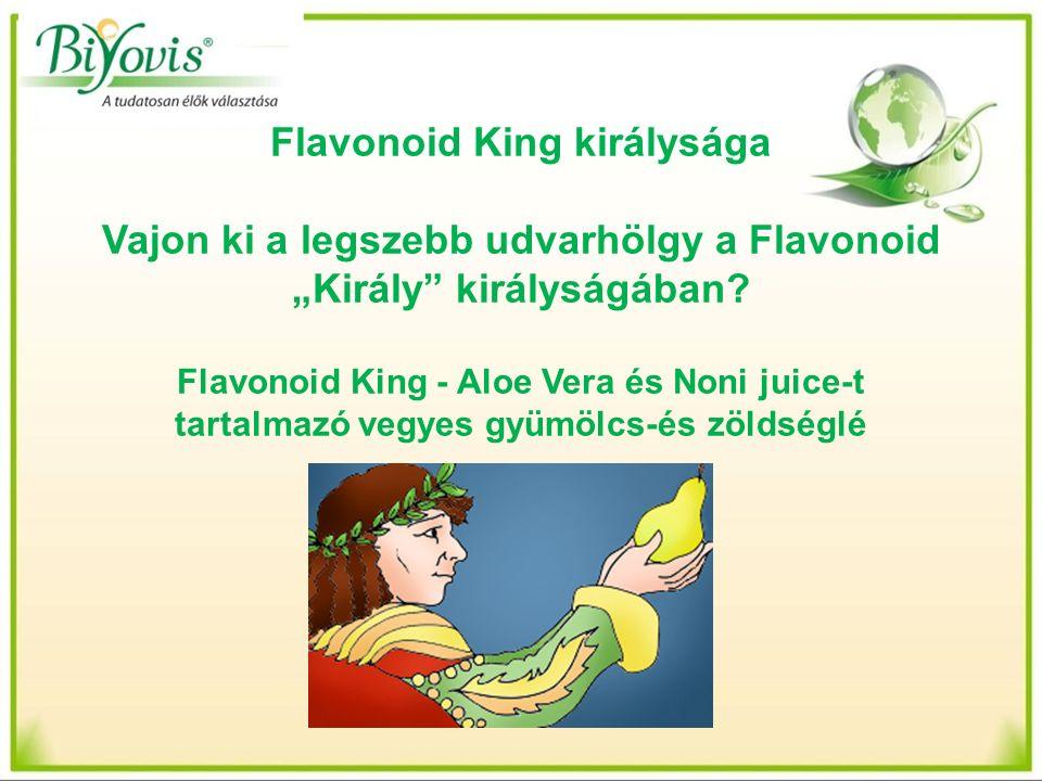"""Flavonoid King királysága Vajon ki a legszebb udvarhölgy a Flavonoid """"Király királyságában."""