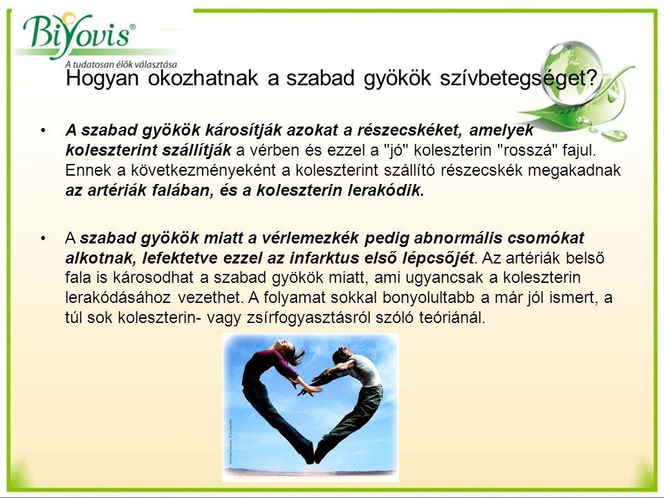 Hogyan okozhatnak a szabad gyökök szívbetegséget.