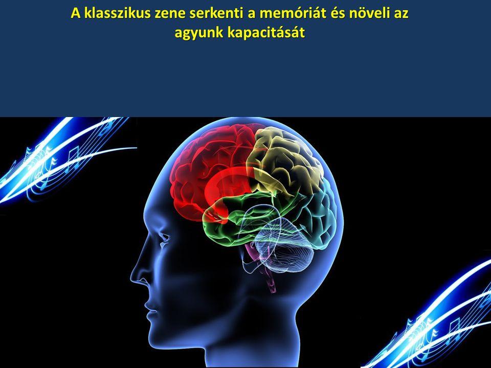 A klasszikus zene serkenti a memóriát és növeli az agyunk kapacitását