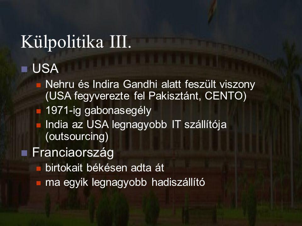 Külpolitika III.