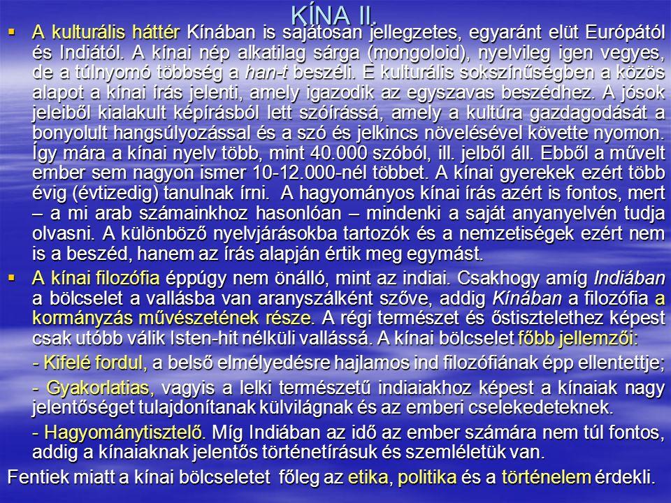 KÍNA II.