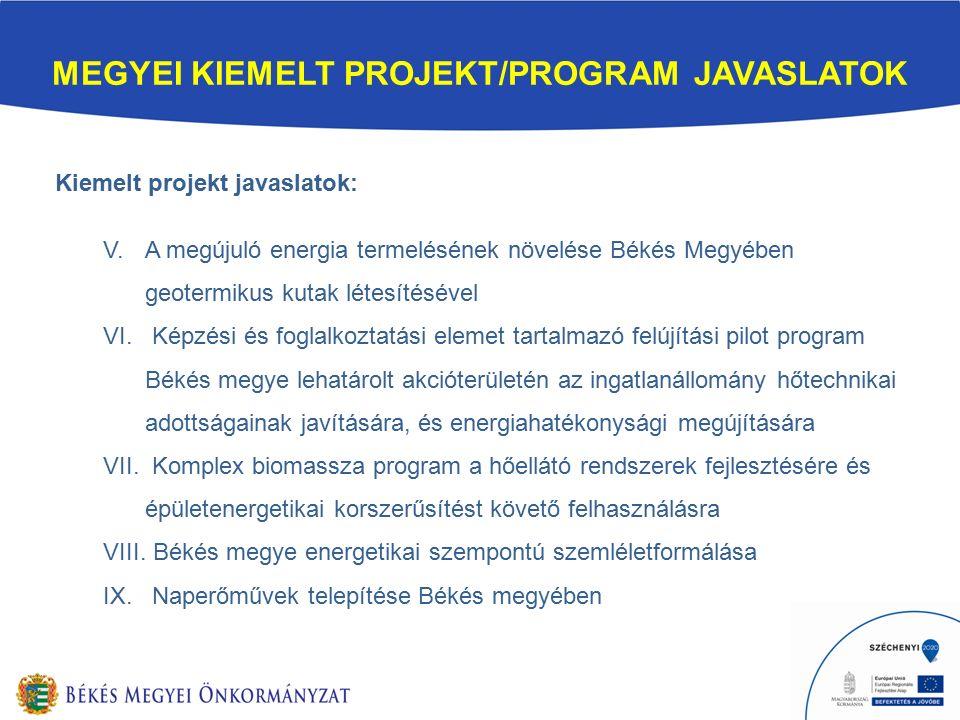 KIEMELT PROJEKT III.