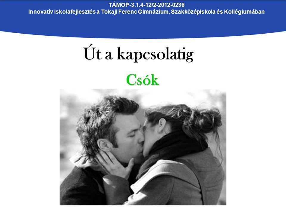 TÁMOP-3.1.4-12/2-2012-0236 Innovatív iskolafejlesztés a Tokaji Ferenc Gimnázium, Szakközépiskola és Kollégiumában Út a kapcsolatig Csók
