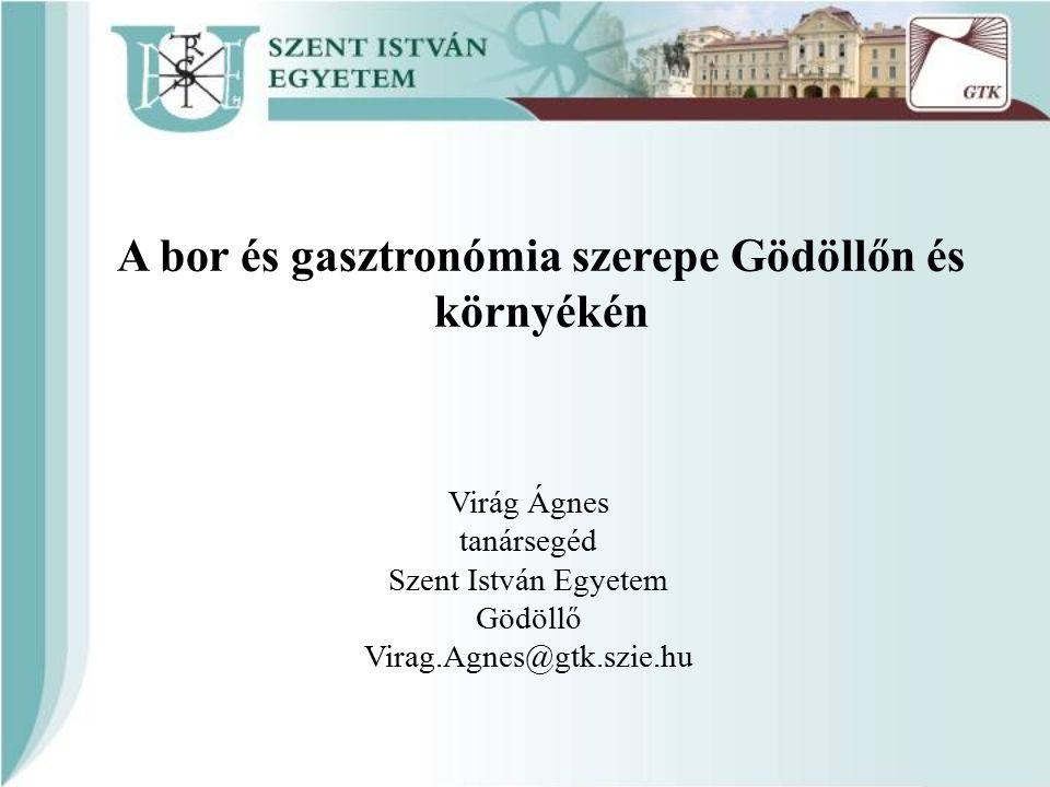 Az előadás felépítése Gödöllő Környéki Regionális Turisztikai Egyesület (GKRTE) Dr.