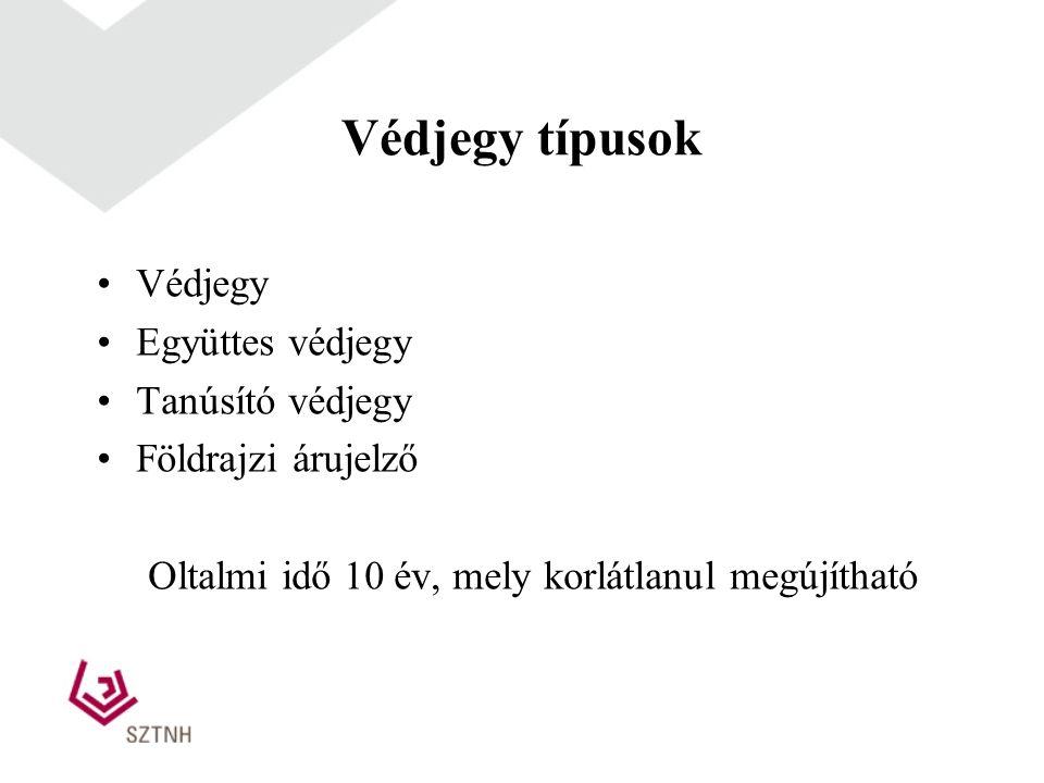 A védjegyoltalomból kizárt megjelölések (hivatalból vizsgált) feltétlen kizáró okok Megkülönböztetésre nem alkalmas megjelölések (fajta, minőség, mennyiség, földrajzi származás stb.) (virsli, kiváló, magyar) .