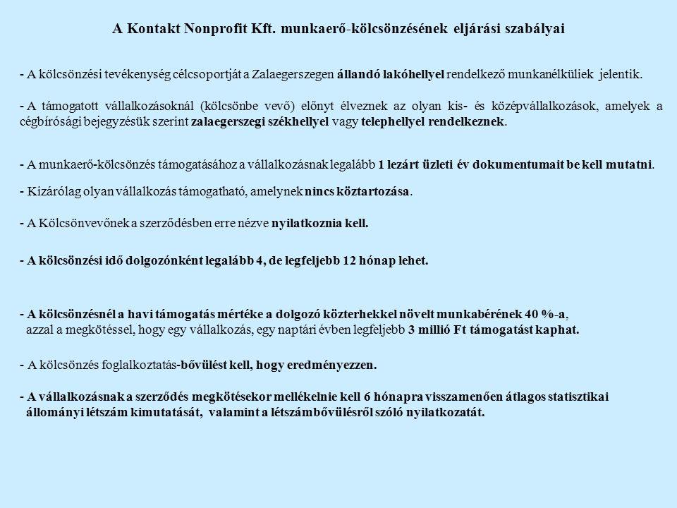 A Kontakt Nonprofit Kft.
