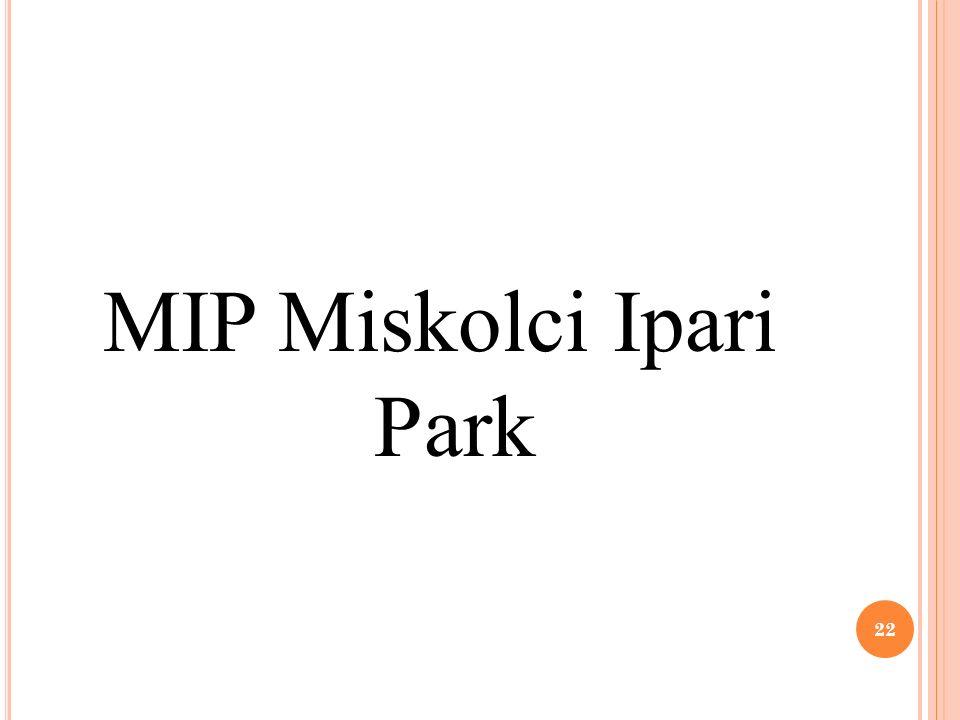 MIP Miskolci Ipari Park 22