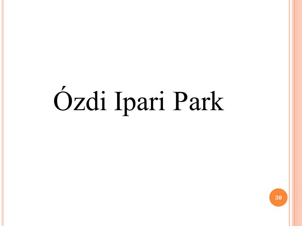 Ózdi Ipari Park 30