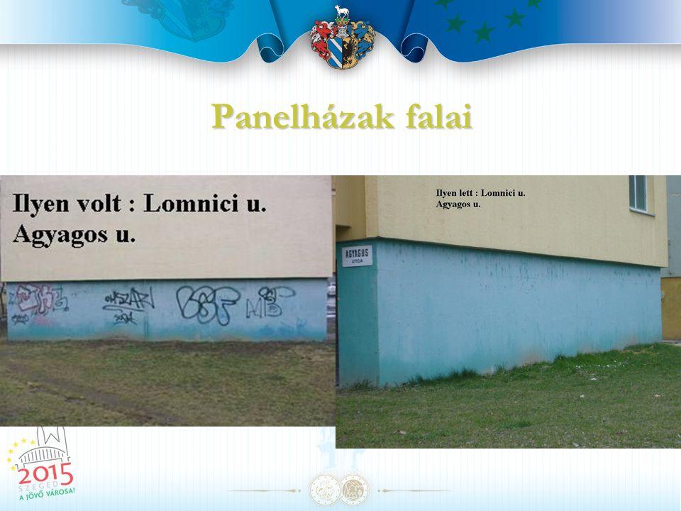 Panelházak falai
