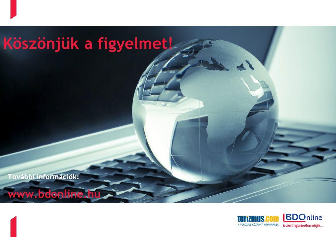 További információk: www.bdonline.hu Köszönjük a figyelmet!