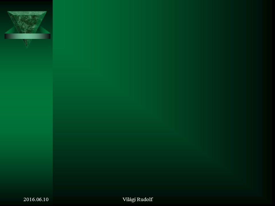 Világi Rudolf Irodalom a témakör feldolgozásához: Dr. Poór József, Dr. Karoliny Mártonné: Személyzeti/emberi erőforrás menedzsment kézikönyv. Bp., 200