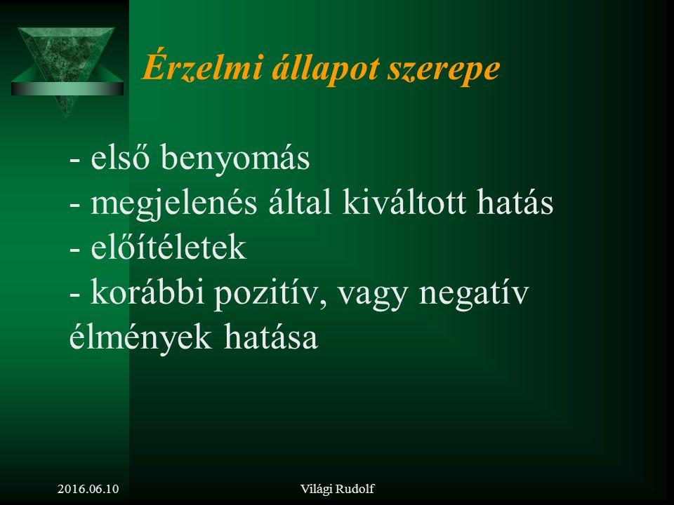Világi Rudolf Nonverbális üzenetek, amelyek a szóbeli információ megbízhatóságát támasztják alá.