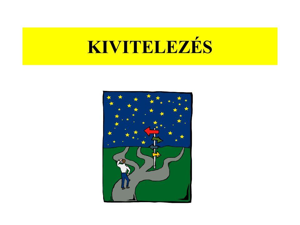 KIVITELEZÉS