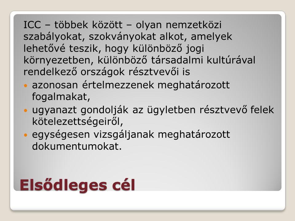 Lázár Péter MKIK Budapest, 2016. május 24 Az ICC által kiadott nemzetközi szabályok és szokványok alapján kibocsátott bankári instrumentumok
