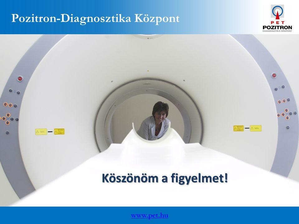 www.pet.hu Pozitron-Diagnosztika Központ Köszönöm a figyelmet!