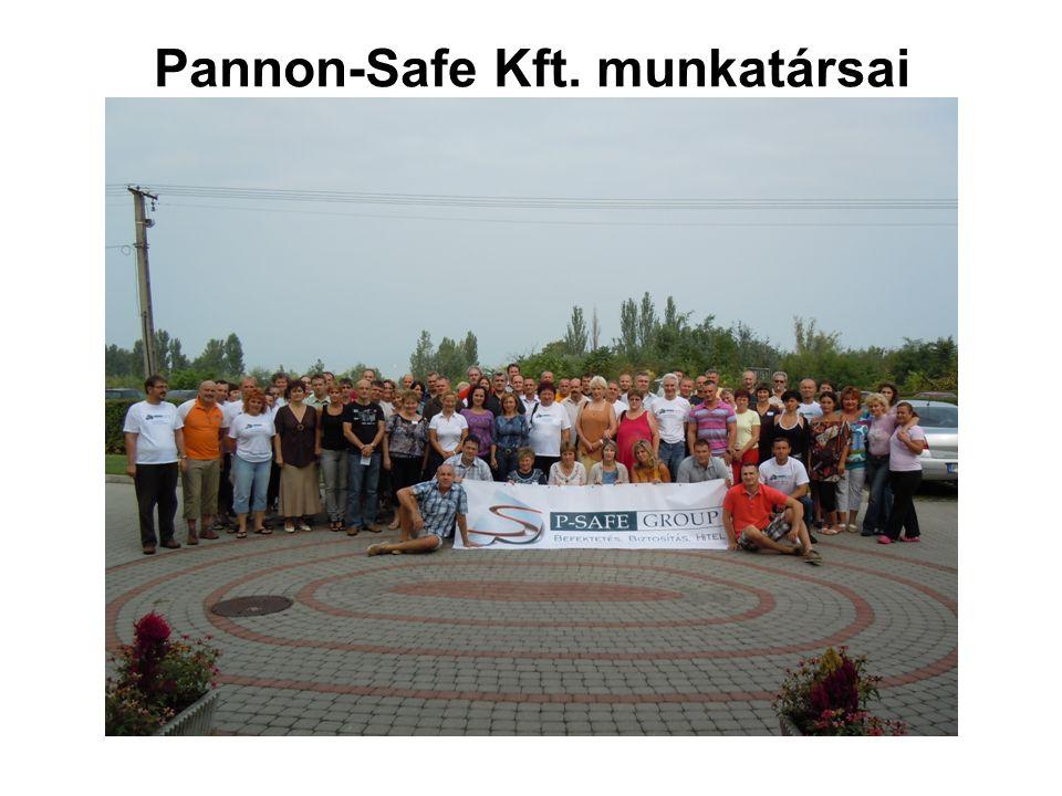Pannon-Safe Kft. munkatársai