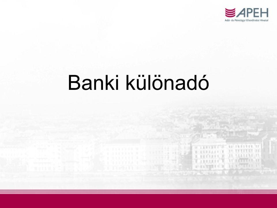 Banki különadó