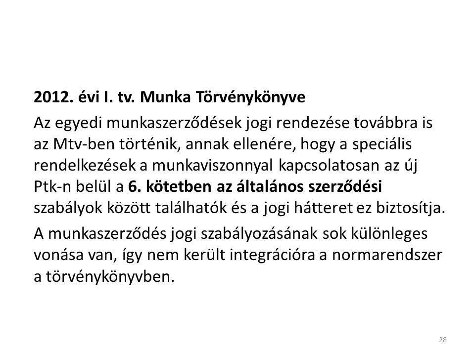 28 2012. évi I. tv.