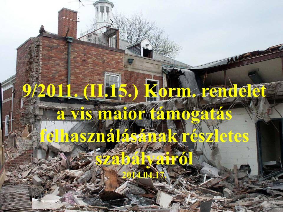 9/2011. (II.15.) Korm.