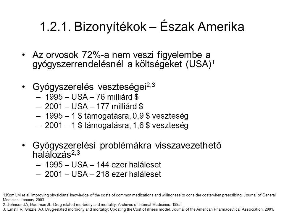 2.2.gyógyszerészi gondozás finanszírozási javaslata - nemzetközi modellek - 2008.
