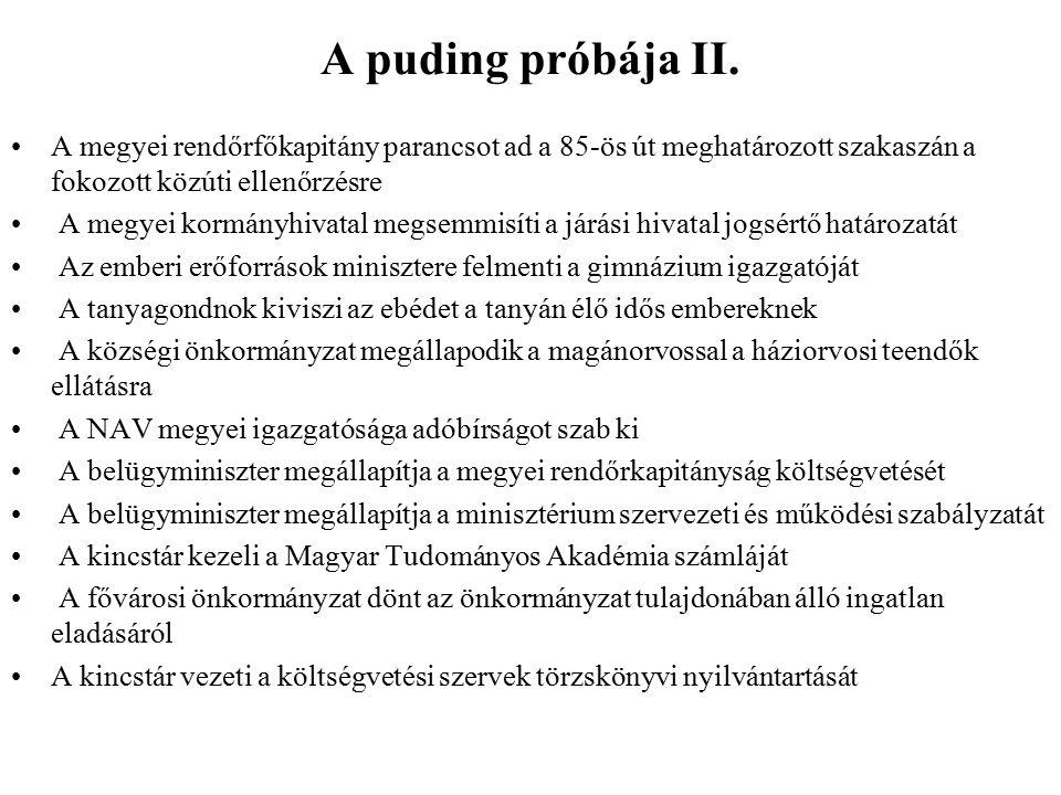 A puding próbája II.