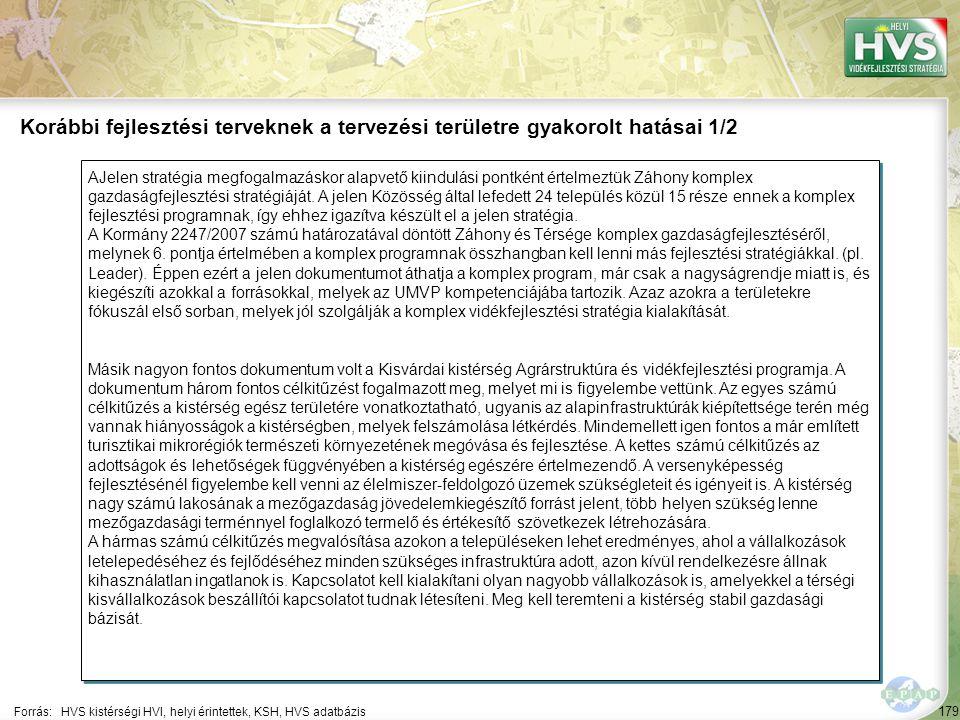 179 AJelen stratégia megfogalmazáskor alapvető kiindulási pontként értelmeztük Záhony komplex gazdaságfejlesztési stratégiáját. A jelen Közösség által