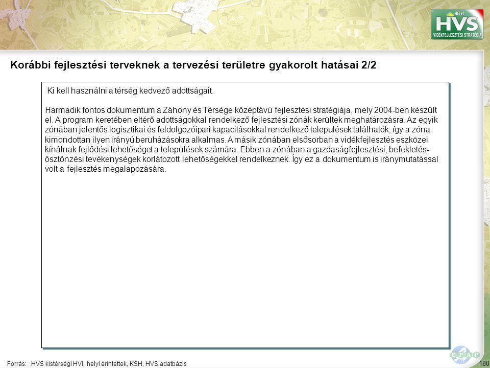 180 Ki kell használni a térség kedvező adottságait. Harmadik fontos dokumentum a Záhony és Térsége középtávú fejlesztési stratégiája, mely 2004-ben ké