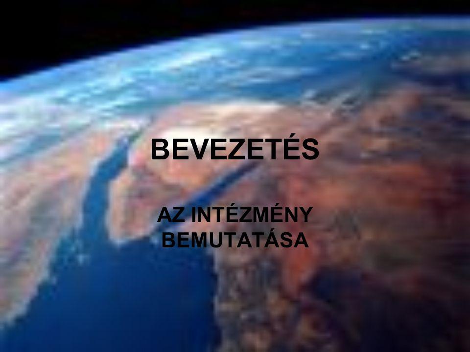 BEVEZETÉS AZ INTÉZMÉNY BEMUTATÁSA